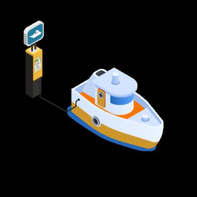 FCS mobility - ricarica per natanti elettrici
