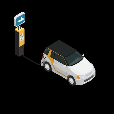 Ricarica automobile elettrica
